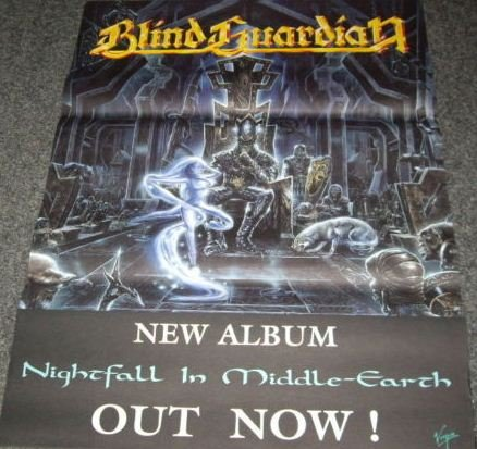 Blind Guardian - Nightfall In Middle-Eath - 50X70 Cm Affiche / Poster