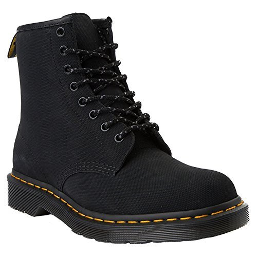 Dr. Martens 1460 Smooth, Stivaletti Unisex Adulto, Nero (Black Smooth), 40