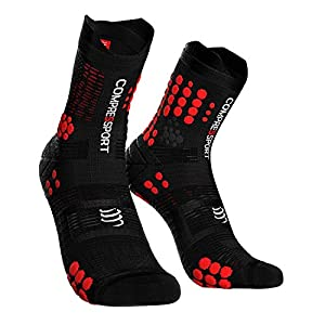 Compressport Pro Racing Socks V3 Trail High Black Red
