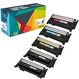 5 Do it Wiser Kompatible Toner CLT K404S für Samsung C480W C480FW C430W C430 C480 C480FN - CLT Y404S CLT C404S CLT M404S