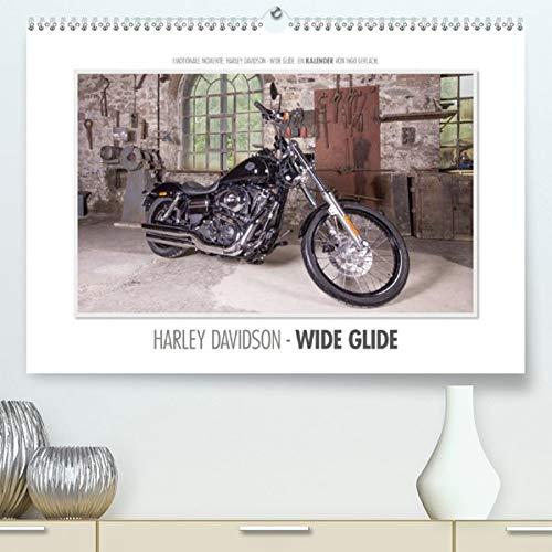 Emotionale Momente: Harley Davidson - Wide Glide (Premium-Kalender 2020 DIN A2 quer): Emotionale Momente auch bei der Produktfotografie für eine ... 14 Seiten ) (CALVENDO Mobilitaet)