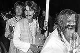 The Poster Corp John Lennon George Harrison and Maharishi Mahesh Yogi Photo Print (25.40 x 20.32 cm)