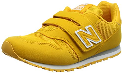 New balance kv373v1y, sneaker unisex-bambini, giallo (yellow), 36 eu