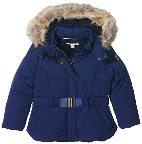 ESPRIT KIDS Mädchen Regenmantel RI41603 Raincoat, Blau (Navy Blue), 4 Jahre (Navy Blue Raincoat)
