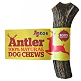 Antos Antler dog chew - Available in 3 sizes - 100% natural ALL SHAPES MAY VARY (Small Antler Small 50-75g)