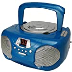 Groov-e GVPS713BE Boombox Portable CD...