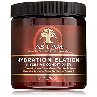 As I Am Hydration Elation Intensive Conditioner, 227g/8 oz.