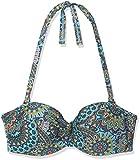 ESPRIT Bodywear Damen Bikinioberteil 047EF1A135, Blau (Turquoise 470), 38 (Herstellergröße: 42 D)