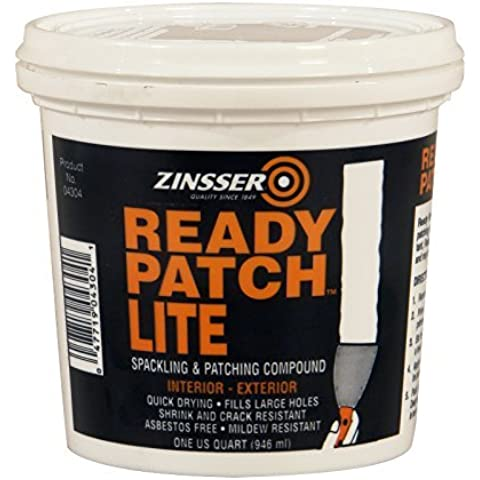 Rust-Oleum 4304 1-Quart Ready Patch Lite Spackling and Patching Compound by Rust-Oleum