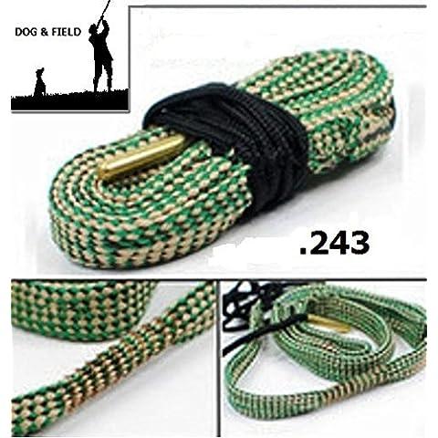 Dog & Field Bore Cleaner .243 Caliber fucile di serpente