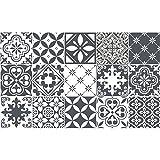 Carreaux de ciment adhésif mural - azulejos - 20 x 20 cm - 15 pièces