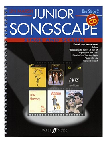 Lin Marsh: Junior Songscape - Stage And Screen. Sheet Music, CD for Voice, Piano Accompaniment(with Chord Symbols)