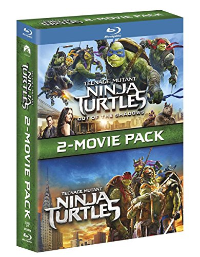 Teenage Mutant Ninja Turtles [Blu-Ray] 1+2 Box-Set inkl. Out of the Shadows (Import, Deutscher Ton)