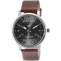 Fastrack Fundamentals Analog Silver Dial Men's Watch - 38052SL03