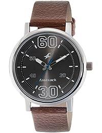 Fastrack Fundamentals Analog Silver Dial Men's Watch -NL38052SL03
