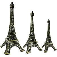 GYD Paris Eiffelturm Miniatur Modell Dekoration Frankreich Bronze Ton La  Tour Eiffel (25cm)