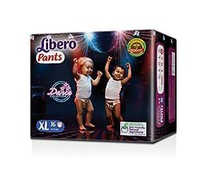 Libero Extra Large Size Diaper Pants (16 Counts)