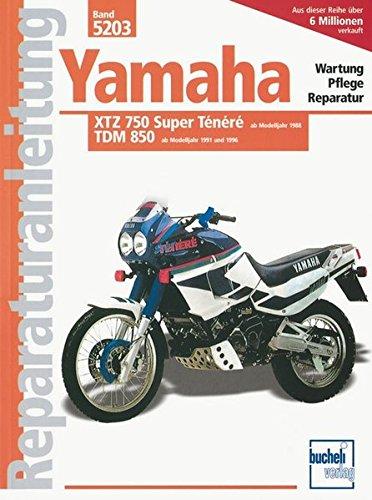 Yamaha XTZ 750 Super Ténéré / TDM 850 (Reparaturanleitungen) (Yamaha Generatoren)
