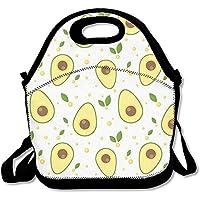 AVOCADO Cartoon gelb Lunch Tasche AWESOME Lunch Handtasche Lunchbox Box für Schule Arbeit Outdoor preisvergleich bei kinderzimmerdekopreise.eu