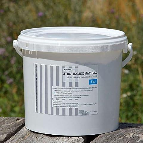 Agro Sens - Lithothamne pur en poudre pour le jardin.