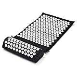 Cuscino Yoga Tappetino e cuscino Digitopressione Relax Massaggio Tappetino Healing Stress Alleviare Digitopressione Bed of Nails Mat Suite con Cuscino