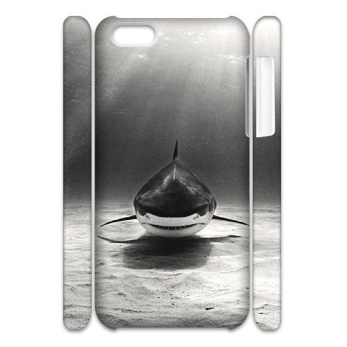 LP-LG Phone Case Of Deep Sea Shark For Iphone 4/4s [Pattern-6] Pattern-6