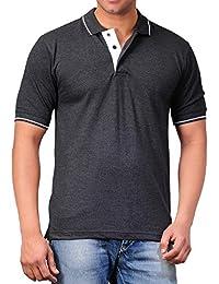Scott Men's Premium Cotton Polo T-Shirt - Charcoal Grey