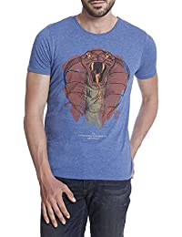 Flat 60% Off On : Jack & Jones Casual Printed T-Shirts For Men's low price image 15