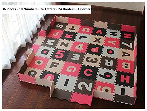 SoClear–Puzzle alfombra niño alfombra de suelo casa suave espuma EVA...