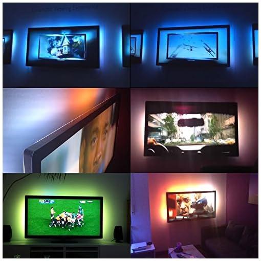 Goes-well-DC5-V-5050-30LEDS-100-cm-TV-sfondo-beieuchtung-USB-strisce-LED-Strip-Set-Band-Barra-Barra-luminosa-luce-Backlight