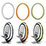 mark8shop ninebot One blanc/vert/orange coloré de Coque de protection pour C + E +
