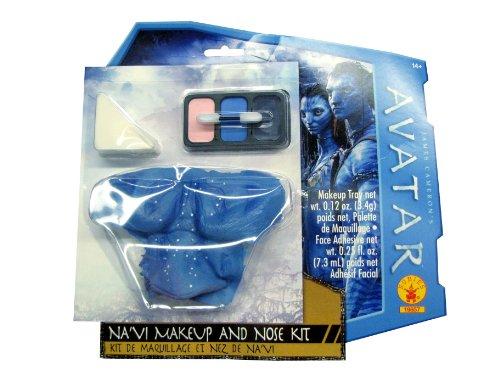 Rubies 's Costume Co Avatar Navi Maquillaje Kit Nariz