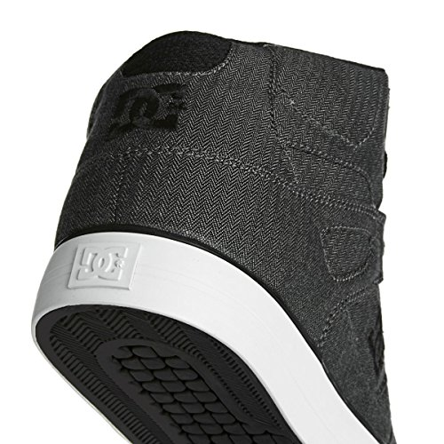 DC Shoes Spartan High WC TX Se, Sneakers Basses Homme Grey
