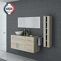 Distribain Meuble Simple Vasque Arezzo Scandinave b0cdd0d4dc21