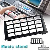 Crewell Keyboard-Notenständer, tragbar, langlebig, für Musikinstrumente