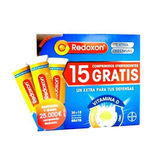 Redoxon Extra Defensas Efervescentes - 45 Comprimidos