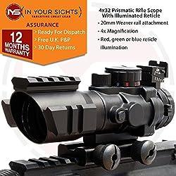 4X32 Prismáticos alcance del rifle