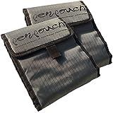 2x penpouch Marker Tasche Tragetasche Mäppchen Etui - professionelle Stiftemappe für Copic, Tria, Edding, Beleduc u.a. Design Filzstifte, Stoff