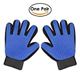 #5: True Touch Deshedding Glove Brush for Dog and Cat