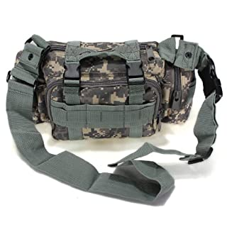Utility Tactical Waist Pack Tasche Military Camping Wandern Outdoor Hand Taille Tasche (ACU Camo)