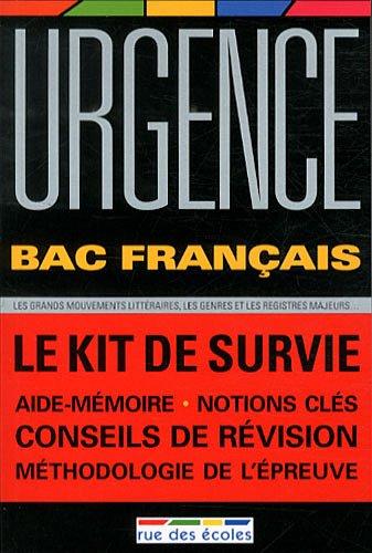 Urgence Bac français