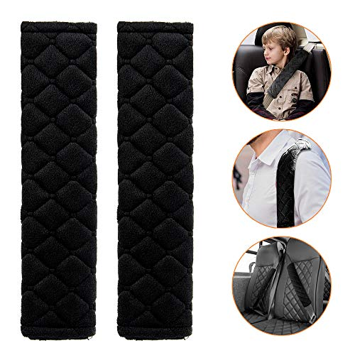 MUAI Lot de 2/housses pour ceinture de s/écurit/é en mat/ériau souple et respirant pour adultes et enfants