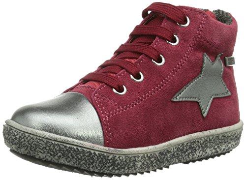 Naturino NATURINO STAR. Mädchen Hohe Sneakers Rot (ACCIAIO-VEMDEMMIA)