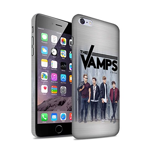 Offiziell The Vamps Hülle / Matte Snap-On Case für Apple iPhone 6+/Plus 5.5 / Pack 6pcs Muster / The Vamps Fotoshoot Kollektion Gebürstetes