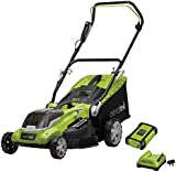 Aerotek Cordless Lawnmower 40V Lithium-Ion Battery & Charger Included Cutting Width 40cm | Cut 400 M² on one charge (40 V Cordless Lawnmower)