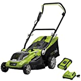 Best Cordless Lawn Mowers - Aerotek Cordless Lawnmower 40V Lithium-Ion Battery & Charger Review