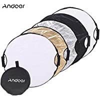 Andoer 60cm 5in1 Round Collapsible Multi-Disc Portable Circular Photo Photography