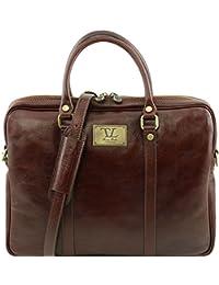 Tuscany Leather Prato Elégante serviette pour portable en cuir