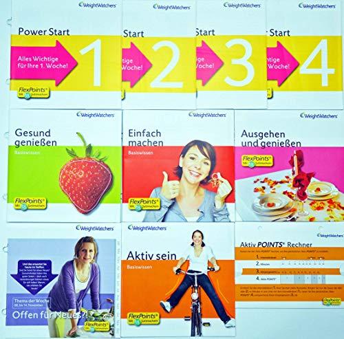 Weight Watchers 1-4 + Pointsliste + Offen für Neues inkl.POINTS®Analyse