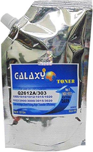 Galaxy 12A Cartridge Toner For HP/Canon Q 2612 A/303 Laser Printer Single Color Toner(Black)